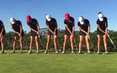 Talented Women's Golf Team's Tricks Are Too Incredible To Miss!  Don't be surprised when these ladies end up as professional golfers–or at least when they break the internet! The women on this team not only have the skills to win, but the style to go along with it! You have to check out their awesome team shots.