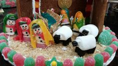 Gingerbread Nativity Snowman Wisemen