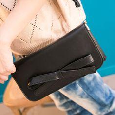 BOW Women Bags Handbag Ladies PU Leather Shoulder Bag messenger bag