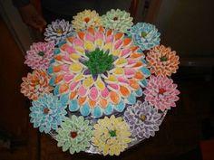 Marshmallow decorated cake