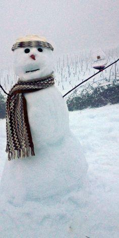 Real Snowmen drink Pinot Noir!