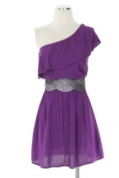 i have almost this exact dress, ut in lighter purple and a more western belt. go texas haha