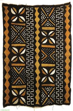 African Textiles, African Fabric, Tribal Patterns, Floral Patterns, Textile Patterns, African Design, African Art, Polynesian Art, African Mud Cloth