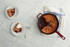 Blackberry Buckle - Martha fruit desserts