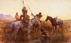 CM Russell   http://3.bp.blogspot.com/--Zn33ID-_RI/T517pQIE-QI/AAAAAAAAE2o/E900SWgLxV4/s1600/Charles+Marion+Russell+Tr+Art+7.jpg