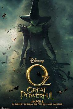 Michelle, James, Mila e Rachel fantastici ne 'Il grande e potente Oz' » Gossippando.it | Gossippando.it