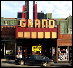 Grand Theater in Ellsworth, Maine.