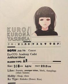 Kuro / Kurona Yasuhisa - Tokyo Ghoul