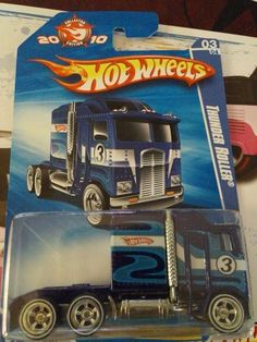Hot Wheels Thunder Roller Rig I think this was a mail away model Hot Wheels Treasure Hunt, Super Treasure Hunt, Custom Hot Wheels, Hot Wheels Cars, Voitures Hot Wheels, Carros Hot Wheels, Chevy Camaro, Chevelle Car, Matchbox Cars