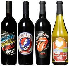 Wines that Rock, Rainbow III Mixed Pack, 4 X 750 mL $54.37
