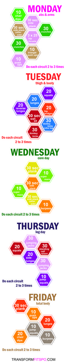 Repin and share if you enjoyed this workout!