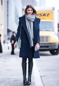 looks warm! and stylish!