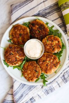 Tuna Cakes with Smoked Paprika Aioli.  I made these with salmon and added a serrano pepper, otherwise following the recipe and they were really good!