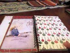 2013 Christmas Junk Journal and Christmas Smash Book