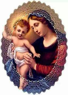 Maria, nossa mãe!