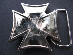 RELIGIOUS IRON CROSS CRUSADERS TUDORS KNIGHTS TEMPLAR MALTESE CROSSES BELT BUCKLE BUCKLES