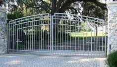 """Résultat de recherche d'images pour """"CONTEMPORARY IRON DRIVEWAY GATES"""""""