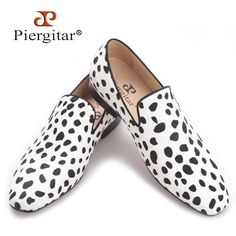 118.00$  Watch here - http://ali8ef.worldwells.pw/go.php?t=32791280522 - Piergitar 2017 new handmade men fashion party and wedding loafers Zebra pattern horse hair men dress shoes Plus size male flats  118.00$