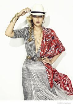 Gigi Hadid Goes Western Glam for S Moda Cover Shoot hair by Marco Santini of www.ionstudionyc.com