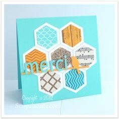 Scrap à la Carte - Dies Hexagones