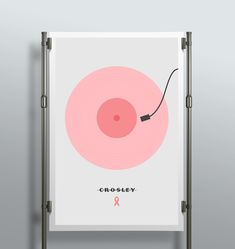 Breast cancer awareness poster for Crosley.
