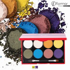 PASSIONATE DOTS EYE SHADOW PALETTE http://www.flormar.com