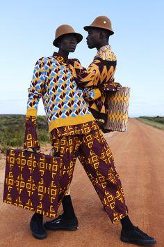 Prince of prints African Inspired Fashion, African Men Fashion, Africa Fashion, African Beauty, Mens Fashion, Fashion 2016, London Fashion, Fashion Fashion, Korean Fashion