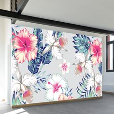 Shop our most popular wall murals. These wall murals have struck a chord with thousands of people. Tapestry Headboard, Headboard Decal, Vintage Flowers Wallpaper, Flower Wallpaper, Feature Wallpaper, Wall Wallpaper, Mural Art, Wall Murals, Room Wall Painting