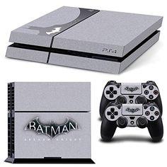 GOOOD Batman Arkham Knight Limited Edition Skin Decal for Plartation 4 console & PS4 Wireless Controller Skins Stickers - Steel Grey GOOOD http://www.amazon.com/dp/B016IO8XBY/ref=cm_sw_r_pi_dp_hu1rwb0E55WCY