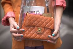 Speaking of see-through, show off the contents of your bag. | 26 Fashion Rules You Should Break Immediately