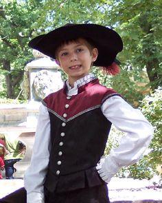 RENAISSANCE BOY COSTUME MEDIEVAL PRINCE ROMEO CHILD KIDS SHAKESPEARE PLAY RED