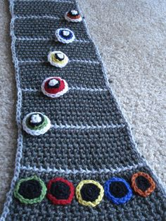 guitar hero scarf; Oh I KNOW one of my crafty friends is just DYING to make this for me!! :)