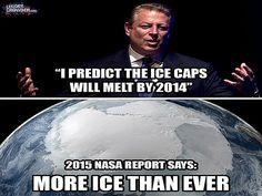 al gore ice caps