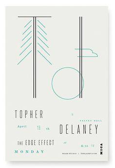 poster design by Oliver Munday