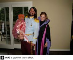 Parenting done right, Dave Grohl!