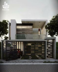 Modern House Gates and Fences Luxury 37 Spectacular Gate Design Ideas that You Can Copy Right now Front Gate Design, Steel Gate Design, Main Gate Design, Fence Design, Home Stairs Design, House Gate Design, Door Gate Design, Modern Entrance, Entrance Gates