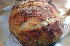 Le menu Merlin: Pain au four hollandais - New Ideas Dutch Oven Bread, Dutch Oven Cooking, Dutch Oven Recipes, Bread Recipes, Bulk Cooking, German Recipes, Knead Bread Recipe, No Knead Bread, Merlin