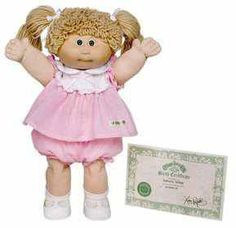 Cabbage Patch Dolls.  Stood in line for one in Little Rock Toys R Us in the 1980's. <3