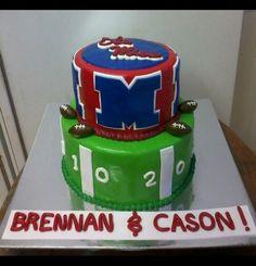 Ole Miss cake!