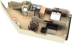 Accurate 3D Floor Plan Designer and Render in India.