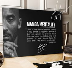 Kobe Bryant Canvas that will remind you to work harder to become the best version of yourself - Früchte im Garten Kobe Quotes, Kobe Bryant Quotes, Words Quotes, Wise Words, Sayings, Inspiring Quotes About Life, Inspirational Quotes, Learn To Love, You Are The Father