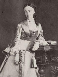 Grand Duchess Olga Feodorovna of Russia, neé Princess Cecilie of Baden.1874