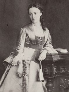 Grand Duchess Olga Feodorovna of Russia, neé Princess Cecilie of Baden.1874