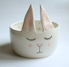 Adorable Animal Handmade Ceramics by Clay Opera