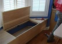how to build a bay window seat bench - Bing Images