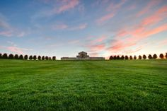 A view of the Saint Louis Art Museum from the bottom of Art Hill. Forest Park, St. Louis MO