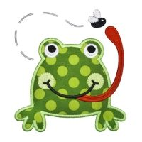 Frog Fly Applique