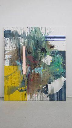 "Saatchi Art Artist Ginny Elston; Abstract Painting, ""Time Spent Tolouse"" #art"
