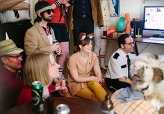 Wes Anderson themed party? YES! There are SO MANY characters you could come as.