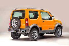 Veja a ficha técnica do Suzuki Jimny 4ALL 4x4